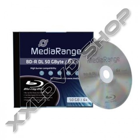 Link to MediaRange Blu Ray BD-R DL 50GB 6x Jewel Case (1) /MR506/