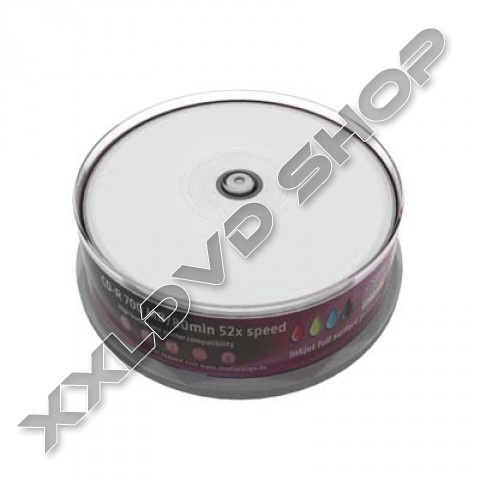 Link to MediaRange CD-R 52X Prinatble Cake (25) /MR202/