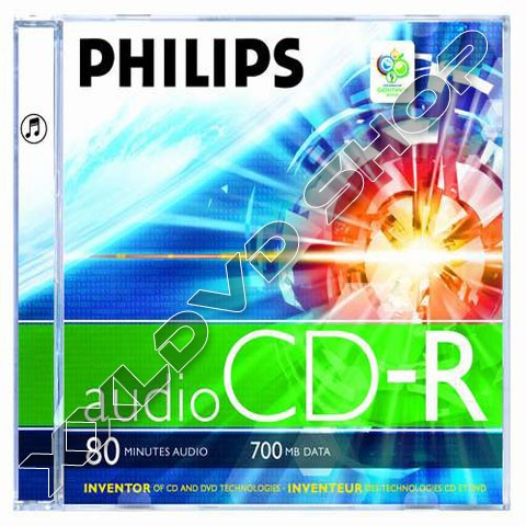 Link to Philips CD-R 52x Audio Jewel Case (10)