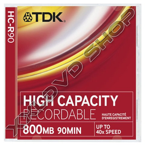Link to TDK CD-R High Capacity Jewel Case (10)