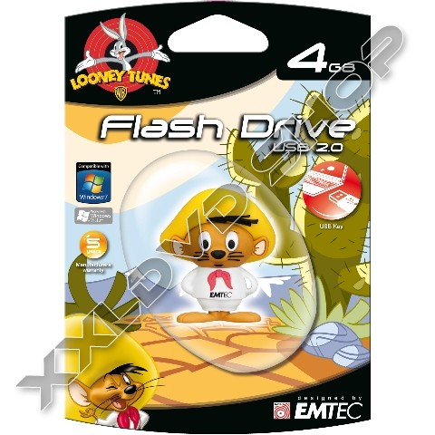 Link to Emtec L100 4GB LT USB Speedy Gonzales