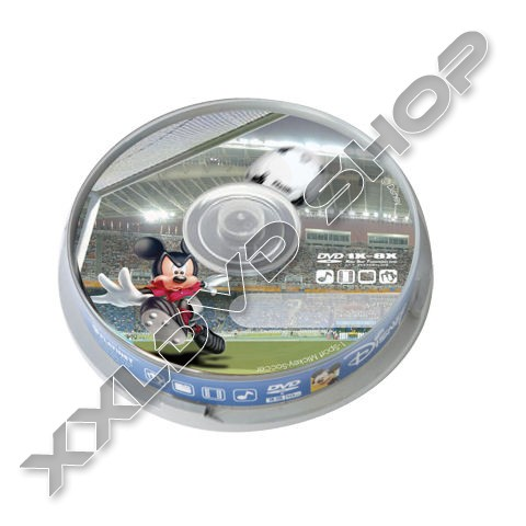Link to Disney Mickey Football DVD-R 8X Cake (10)