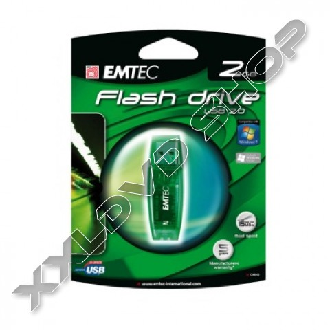 Link to Emtec USB Pendrive 2GB C400 zöld