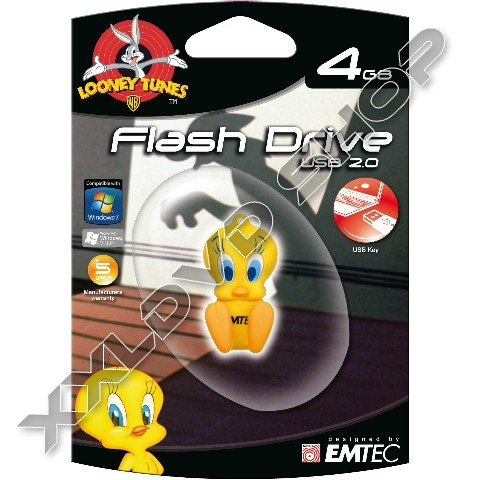 Link to Emtec L100 4GB LT USB Tweety