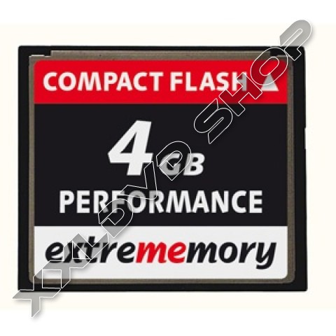 Link to Extrememory CF Card 4GB Performance 120x