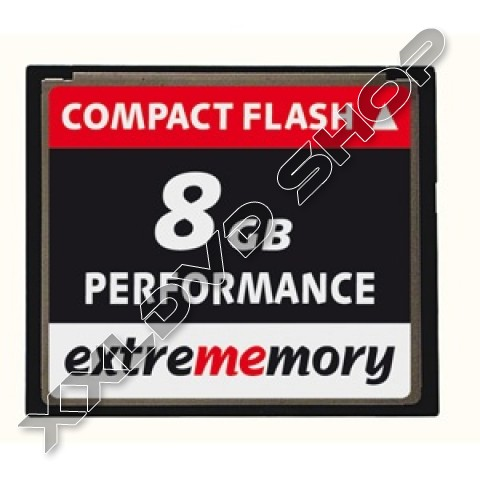 Link to Extrememory CF Card 8GB Performance 120x