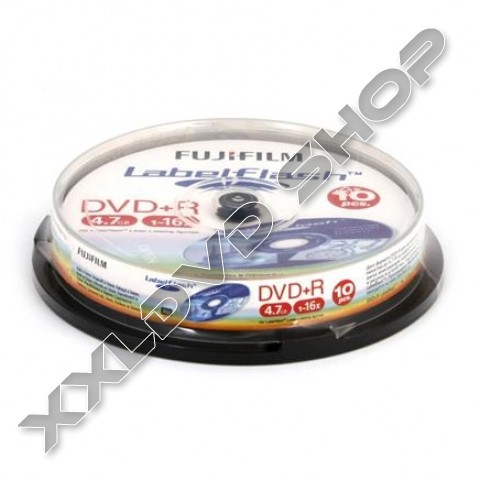 Link to FUJI DVD+R 16x Labelflash Cake (10)
