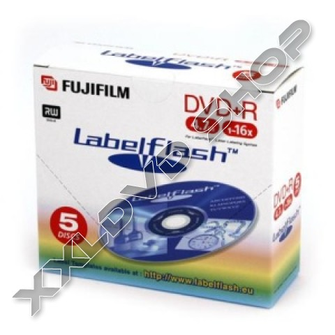 Link to FUJI DVD+R 16x Labelflash Jewel Case (5)