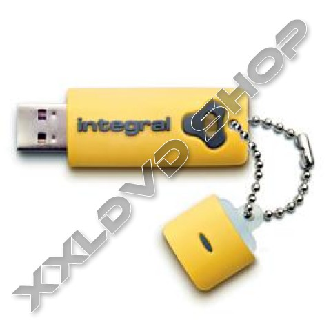 Link to Integral Splash yellow 16GB USB pendrive