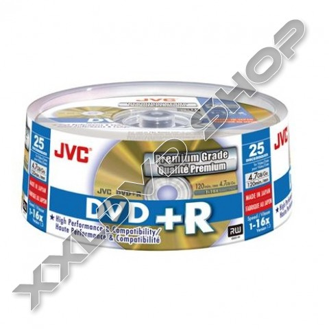 Link to JVC DVD+R 4,7GB 16X Cake (25)