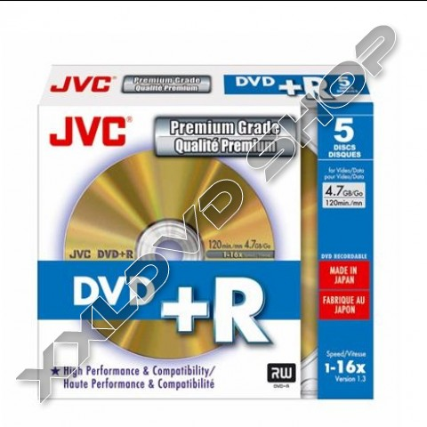 Link to JVC DVD+R 4,7GB 16X Slim Case (5)