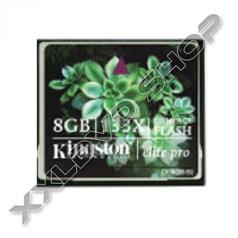 Link to KINGSTON Compact Flash 8GB 133x Elite Pro