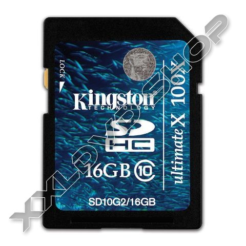 Link to Kingston SD High Capacity card 16GB Class10 G2