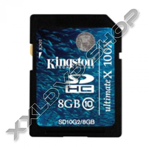 Link to Kingston SD High Capacity card 8GB Class10 G2