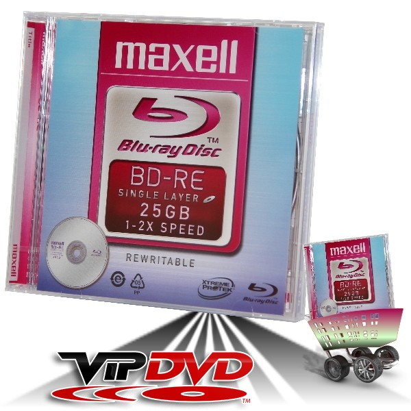 Link to Maxell BD-RE Blu-Ray 25GB 2x Normál Tokban