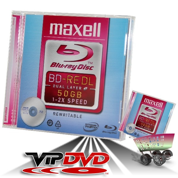 Link to Maxell BD-RE Blu-Ray 50GB 2x Normál Tokban