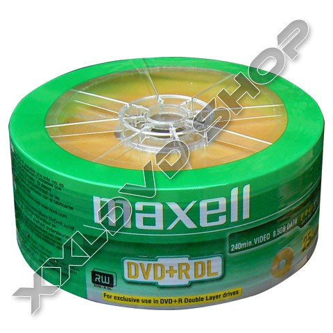 Link to Maxell DVD+R 8x DL DVD Shrink (25)