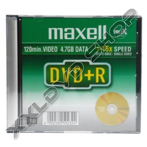 Link to Maxell DVD+R 16x Printable Jewel Case (5)