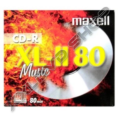 Link to Maxell CD-R 52x Music XL-II Jewel Case (10)