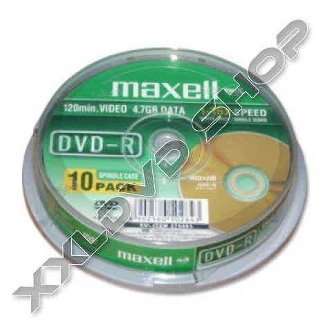 Link to Maxell DVD-R 16X Lightscribe Cake (10)