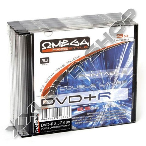 Link to Omega Freestyle DVD+R 8x DL DVD Printable Slim case (1)
