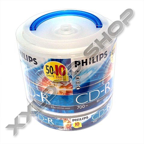 Philips CD-R 52x Carry Pack (60)