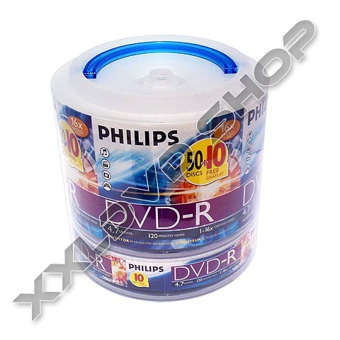 Link to Philips DVD-R 16x Carry Pack (60)