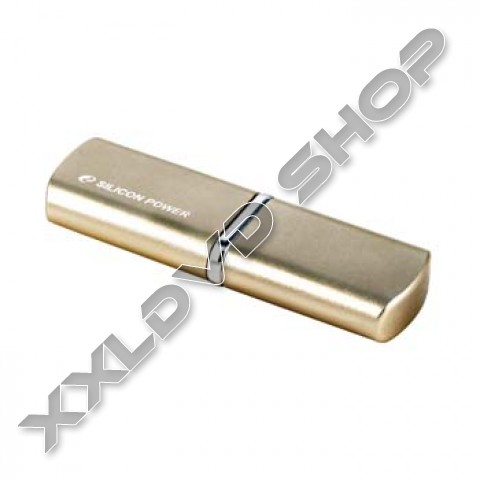 Link to Silicon Power LuxMini 720 Gold 8GB USB pendrive