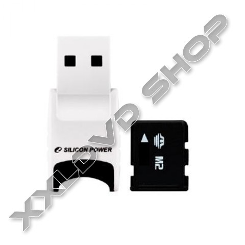Link to Silicon Power Memory Stick Micro M2 8GB+ USB kártyaolvasó