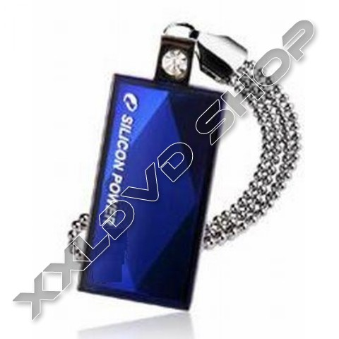 Link to Silicon Power Touch 810 blue 16GB USB pendrive