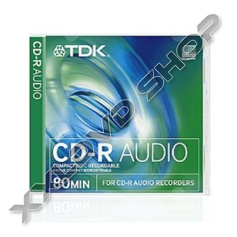 TDK CD-R 52x Audio Jewel Case (10)