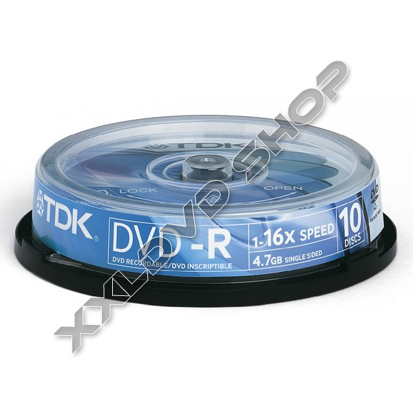 Link to TDK DVD-R 16x Cake (10)