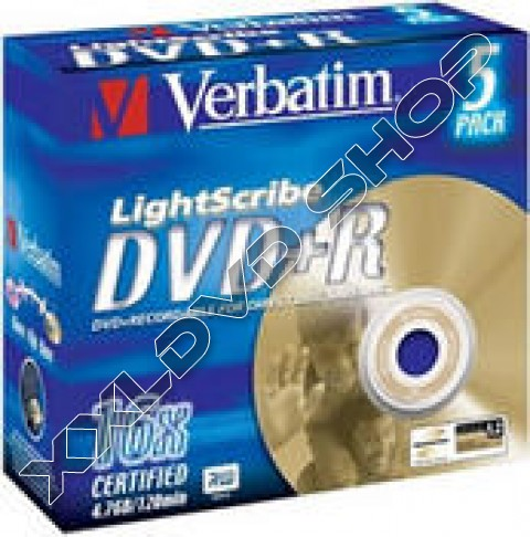 Link to Verbatim DVD+R 16x LightSricbe Jewel Case (10)
