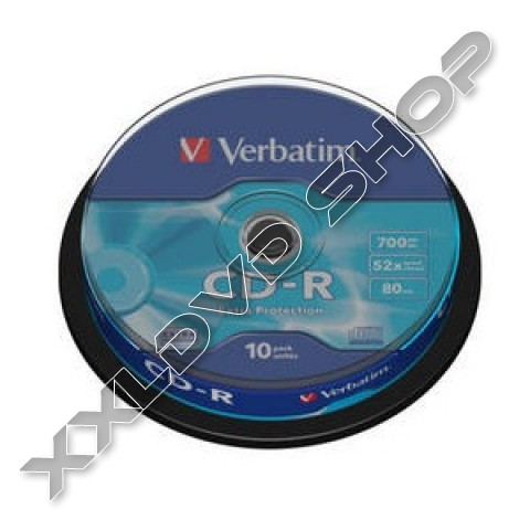 Link to Verbatim CD-R 52x Cake (10) /43437/