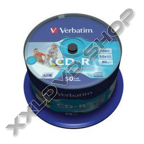 Link to Verbatim CD-R 52x Fullface Printable Cake (50) /43309/