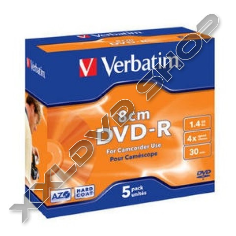 Link to Verbatim DVD-R 4x 8CM Jewel Case (1) /43510/