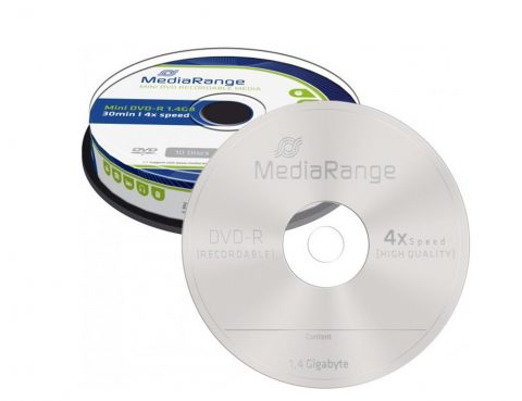 Link to Mediarange DVD-R 8 cm 1,4GB Video Kamera Lemez – Cake (10)